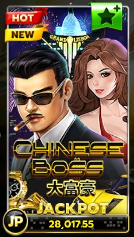 Slotxo-Chinese-Boss