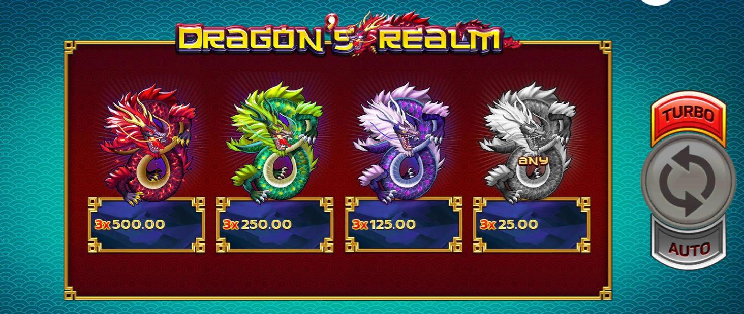 Slotxo-Dragons realm-เกมส์