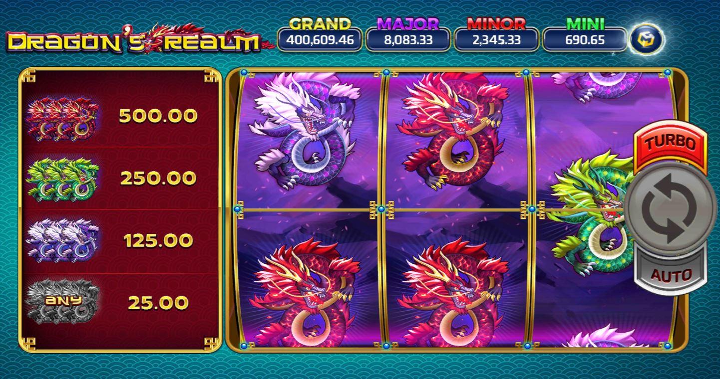 Slotxo-Dragons realm-เกม